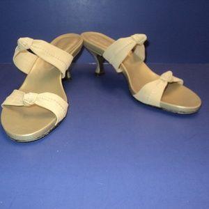 💥HP💥  Donald J. Pliner Sz 6M Sandals Tan Fabric